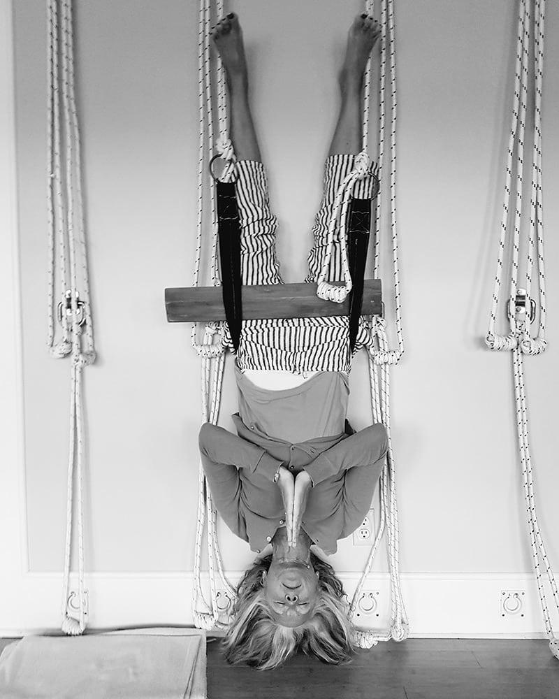 Leigh Anne Milne - Certified Iyengar Yoga Teacher and Certified Yoga Therapist